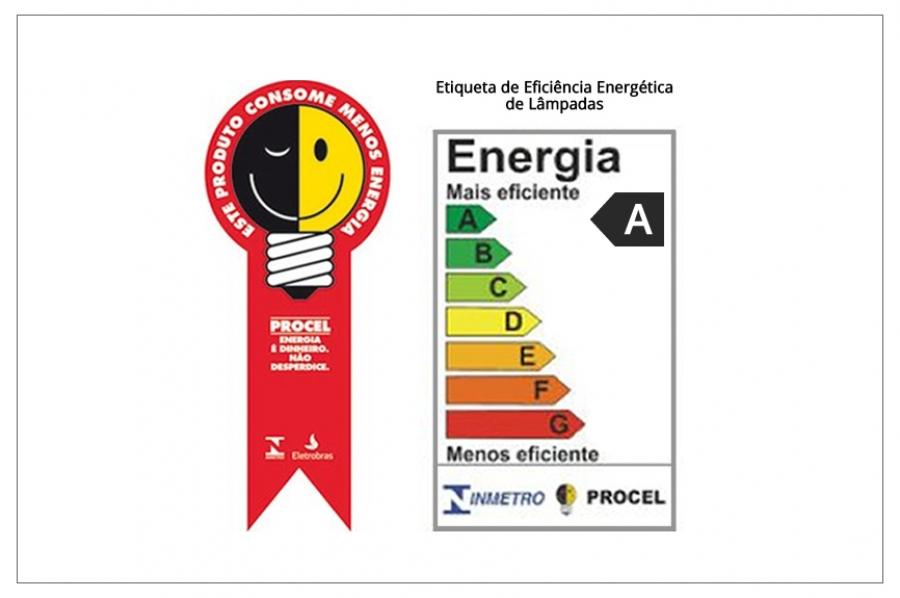 Selo procel de eficiência energética chega às lâmpadas led   ultraluz    iluminação inteligente